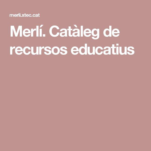 Merlí. Catàleg de recursos educatius