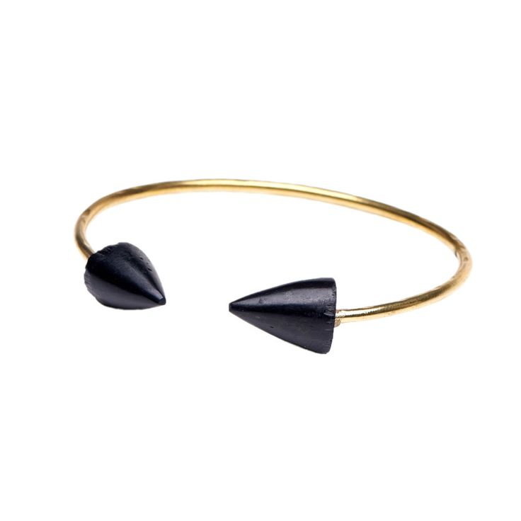 Brass & bone bracelet. Hand crafted in Kenya by Bombolulu Workshops and Cultural Centre. Available on kulturebox.co.za