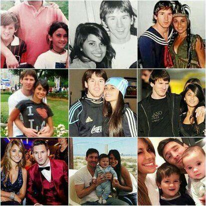 Messi with Antonella❤❤❤ #futbolvideos