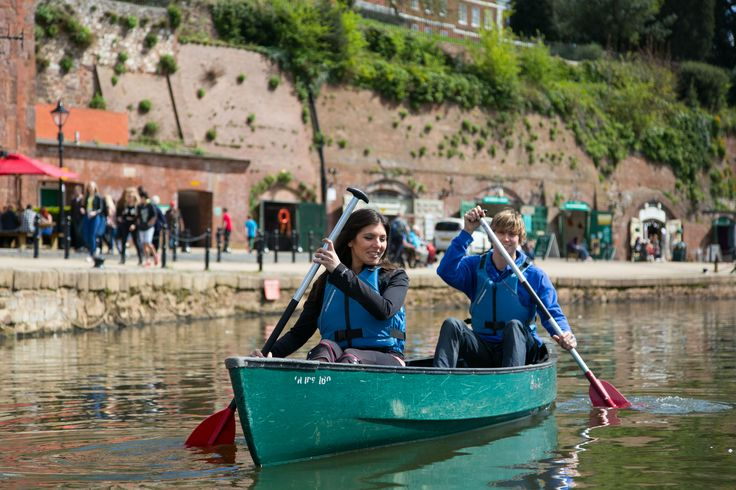 Explore the River Exe with a canoeing adventure! http://www.heartofdevon.com/exeter/things-to-do/activities/outdoor-activities-in-exeter