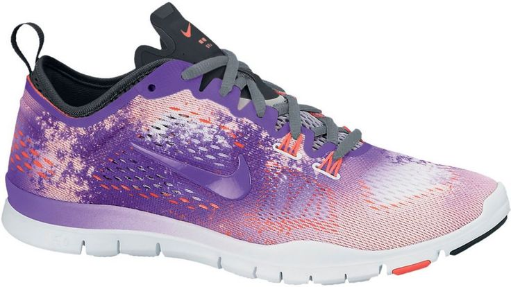 #Nike #Free #5.0 #Trainer #Fit #4 #Fitnessschuhe #Damen #lila/weiß/orange -
