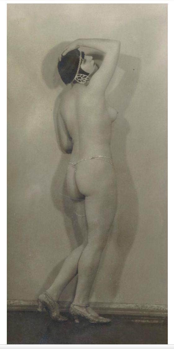 "John Olav Riise  ""Elena Silva, belle danseuse nue"" 1920-30 tallet"