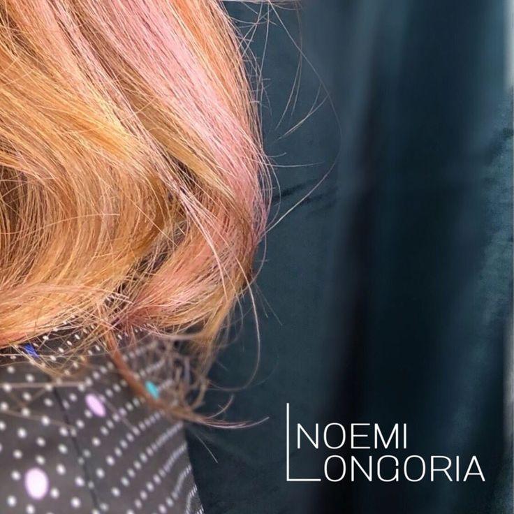 👄Pink-a-boo🐹 📱Bio für Vollbild ansehen🧐 #pinkbalayage #pinkhair #shorthair #colorconditioner #