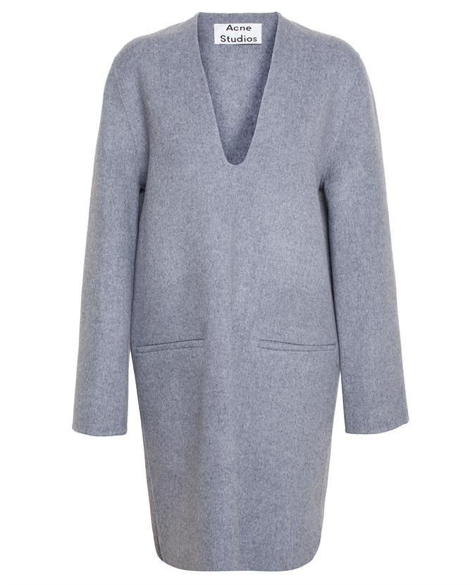 #ACNESTUDIOS | Oversized Wool-Cashmere Dress #SS15