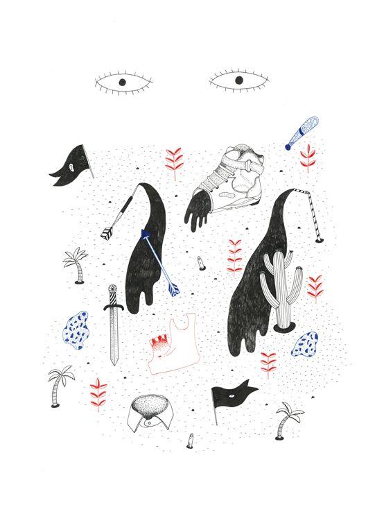 Illustration / Sophie Della Corte | AA13 – blog – Inspiration – Design – Architecture – Photographie – Art