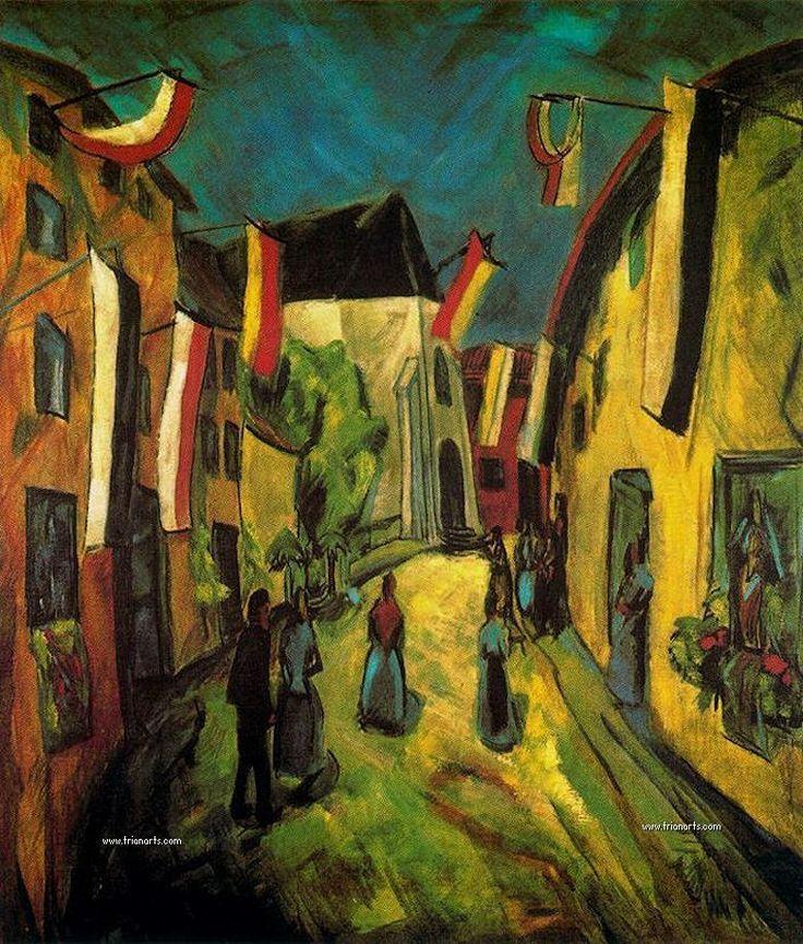Erich Heckel: Expresionismo alemán y Die Brücke - TrianartsTrianarts