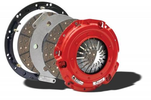 McLeod 2010-2012 Ford Shelby GT500 RXT Twin Disc Clutch 26 Spline 1200hp Steel Base Plate #6975-07HD: McLeod 2010-2012 Ford Shelby GT500…