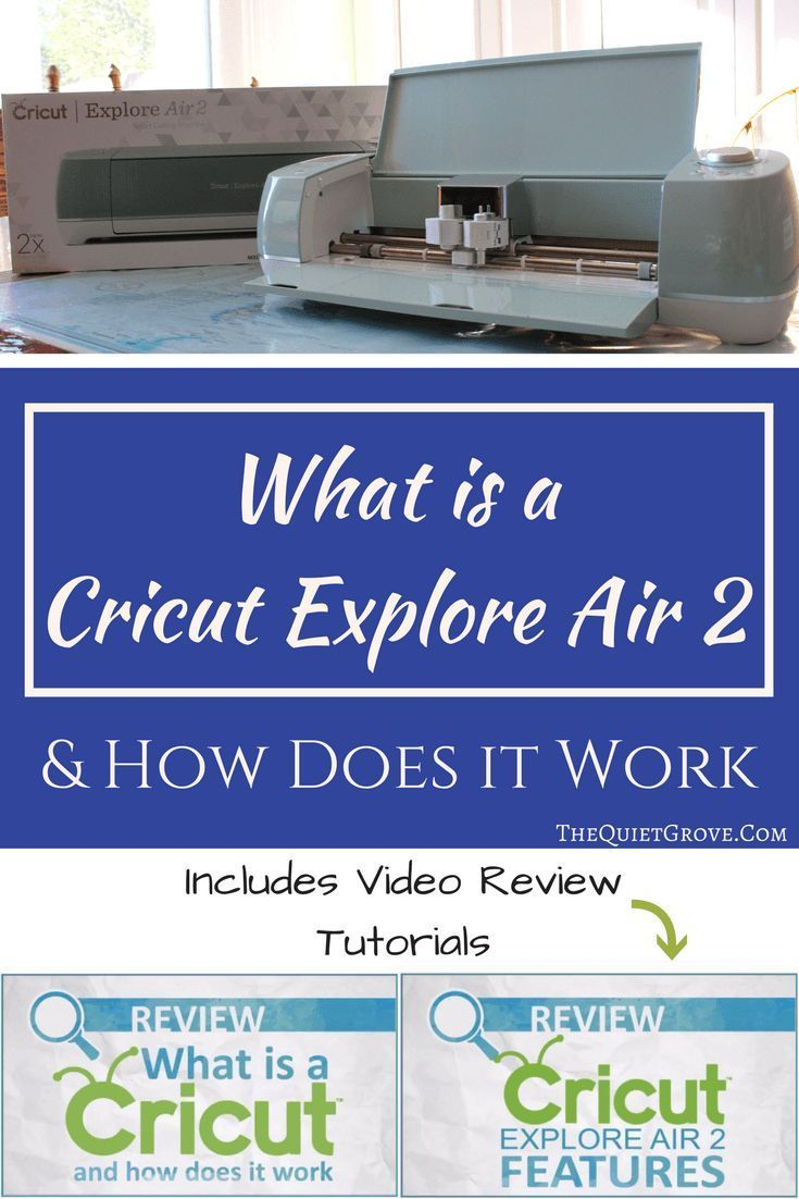 What is the Cricut Explore Air 2 & How Does it Work