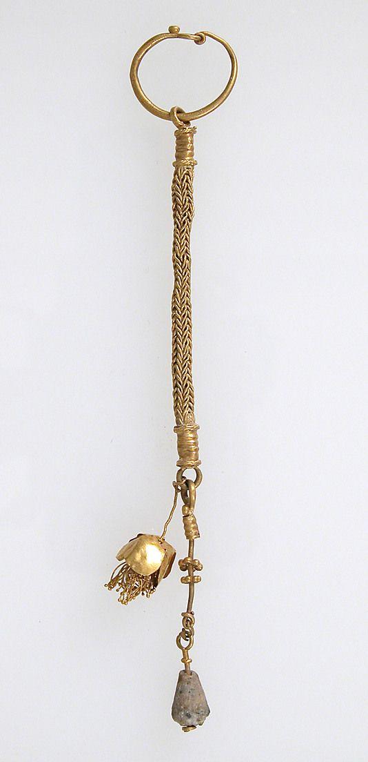 Earring  Date: 3rd century Culture: Eastern Germanic Medium: Gold