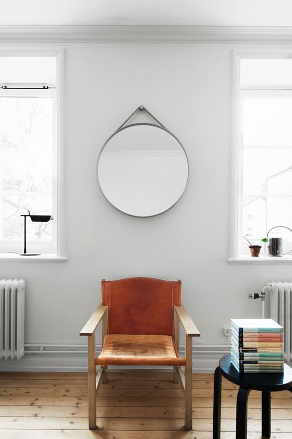 Round mirror - 2016 trend for interior design lovers - note design studio : home designers