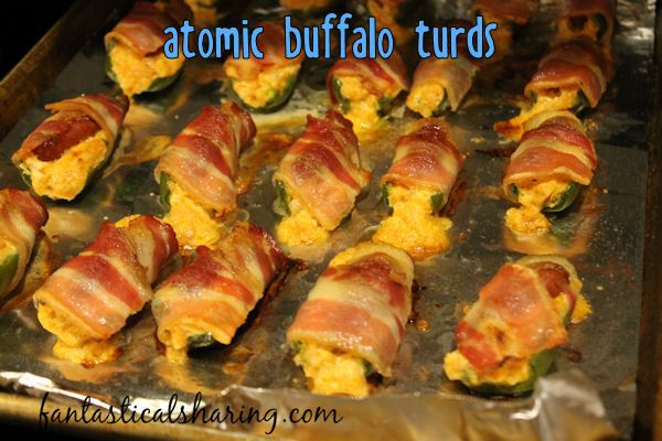 Atomic Buffalo Turds // These A.B.T.s are fantastically easy to make and stuffed…