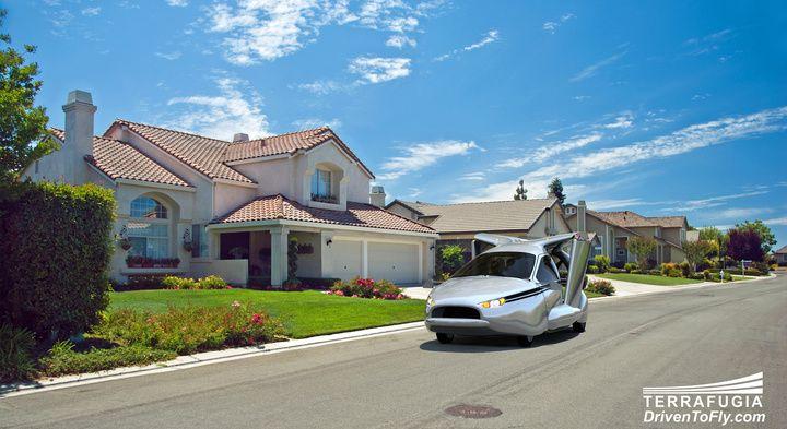 Vliegende auto verwacht in 2018