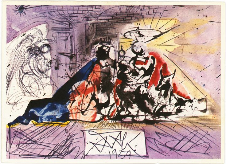 These Salvador Dali Christmas cards outraged Hallmark shoppers in 1960 - The Washington Post