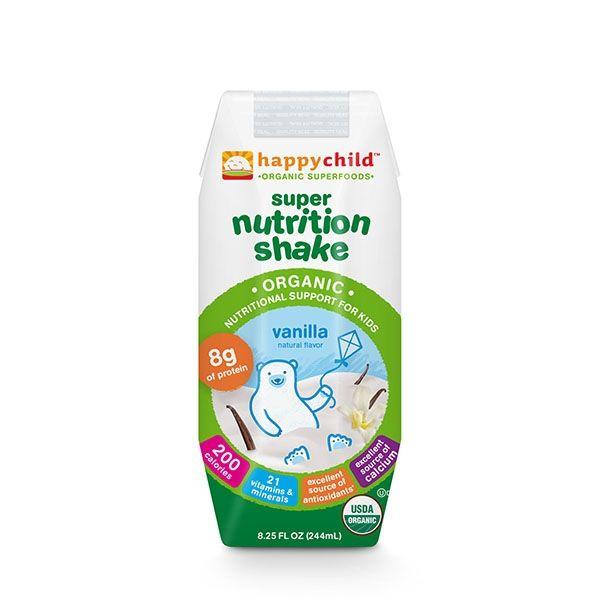 Органический детский шейк питательный ванильный с 8-ми месяцев. http://newlife-baby.com/