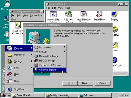 Thewindowsstoryboard 1995 Windows 95