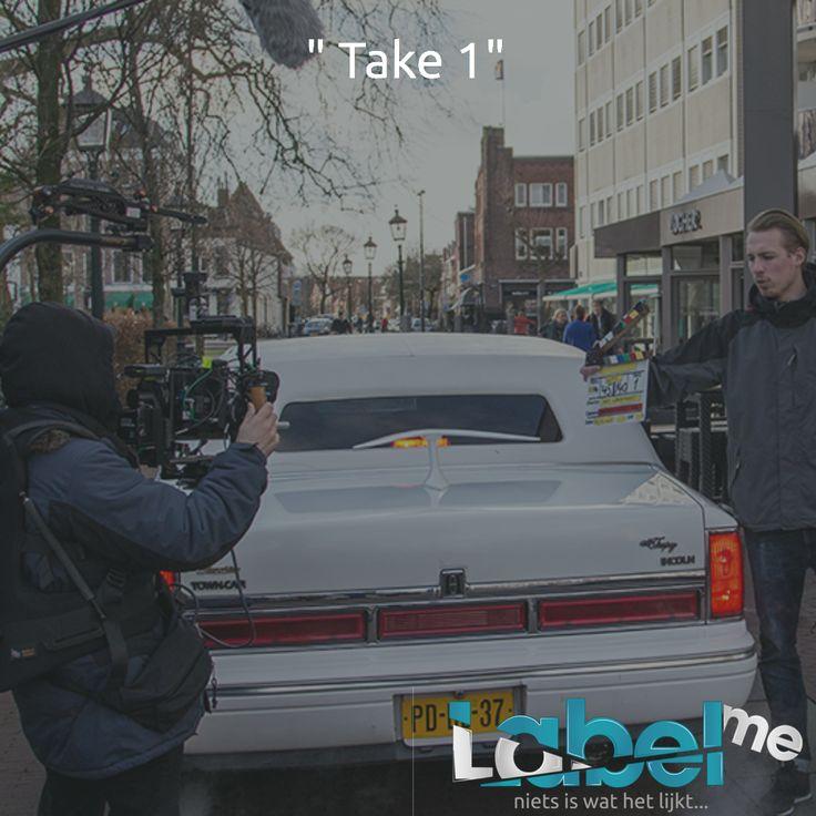 En actie! #LabelMeFilm #making_of MEER_WETEN? #LMF