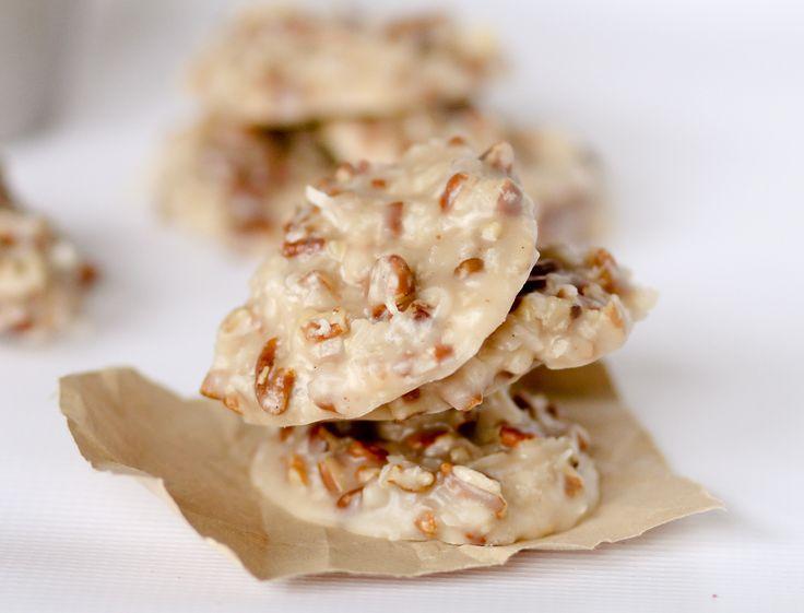 No Bake Coconut Pecan Praline Cookies - Confessions of a Cookbook Queen