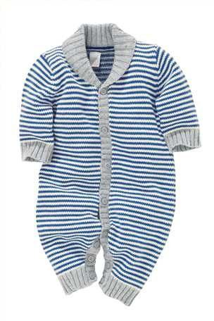 Buy Stripe Knitted Romper from the Next UK online shop