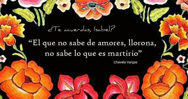 Chavela Vargas<3 <3....quien no sabe de amores.....hay llorona!!!