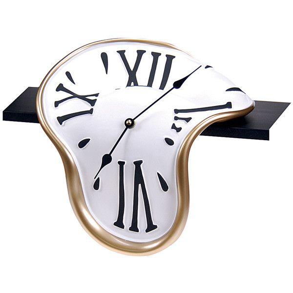 Antartidee Classic Shelf-Clock found on Polyvore