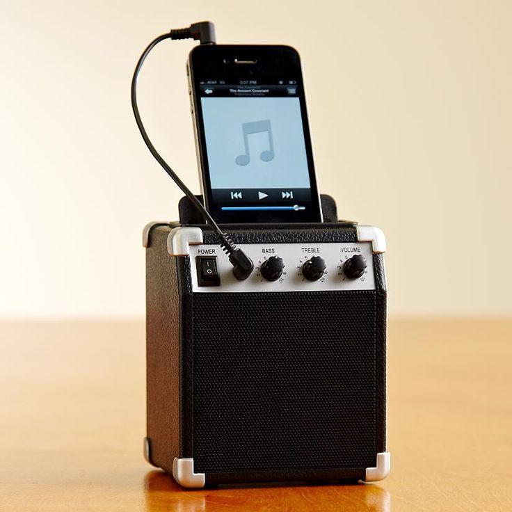 amp style retro speaker.Cute!