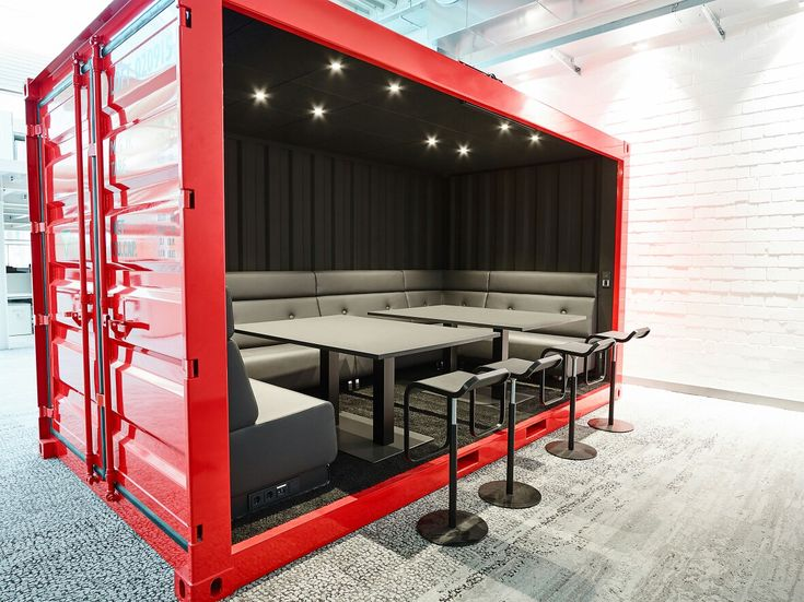 Shipping Container MEETING ROOM