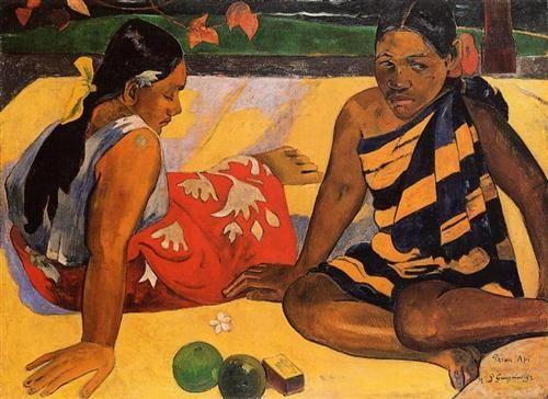 What's New? - Paul Gauguin 1892
