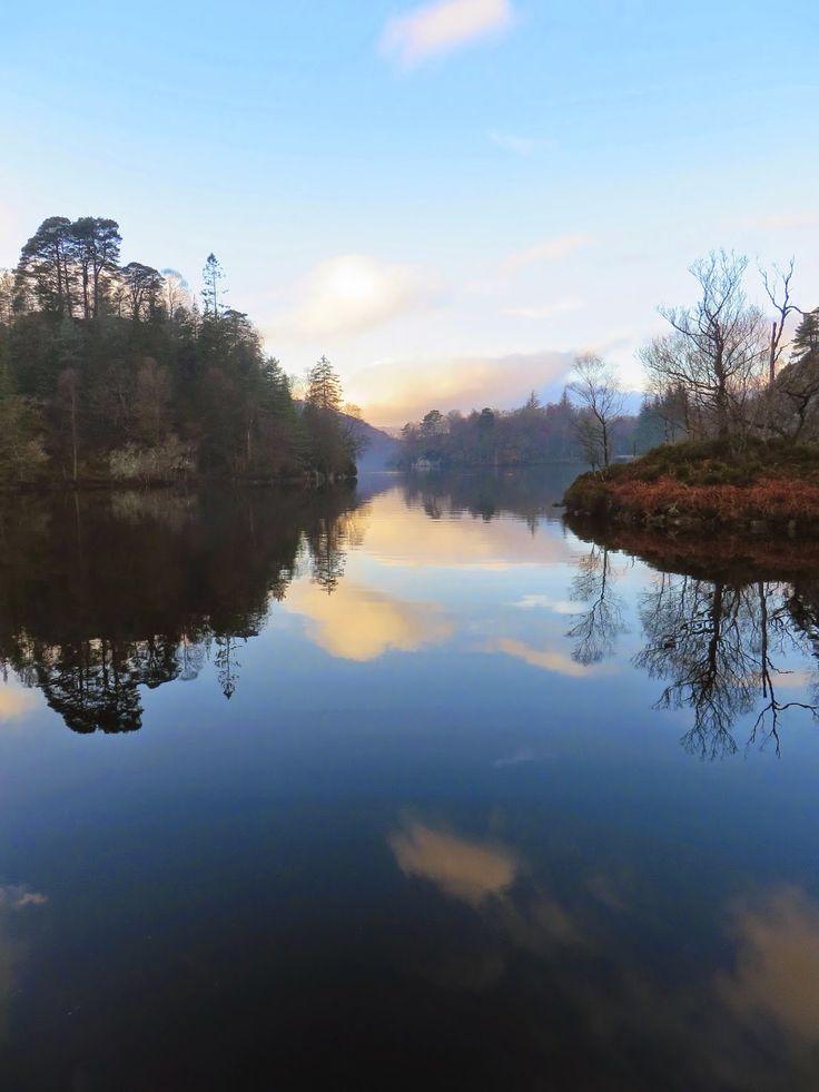 Loch Katrine, Lake Katrine, Scotland, Beautiful, glass lake, lady of the lake, Sir Walter Scott, Hairy Coo Tour, Travel, Bucket List