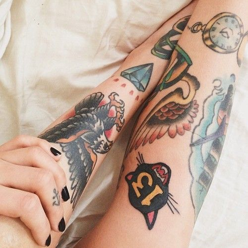 1337tattoos, old style tattoos
