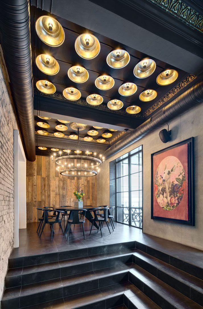 65 идей интерьера кафе – шаг навстречу общественному признанию http://happymodern.ru/interer-kafe/ Нейтральные тона в дизайне кафе