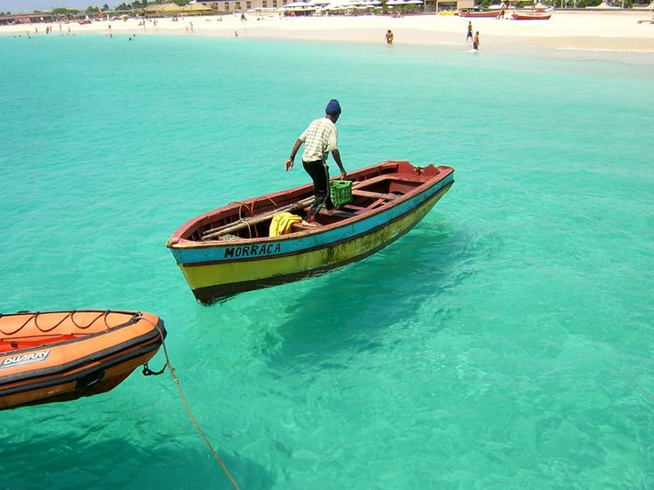 talk about clear waters! Cape Verde