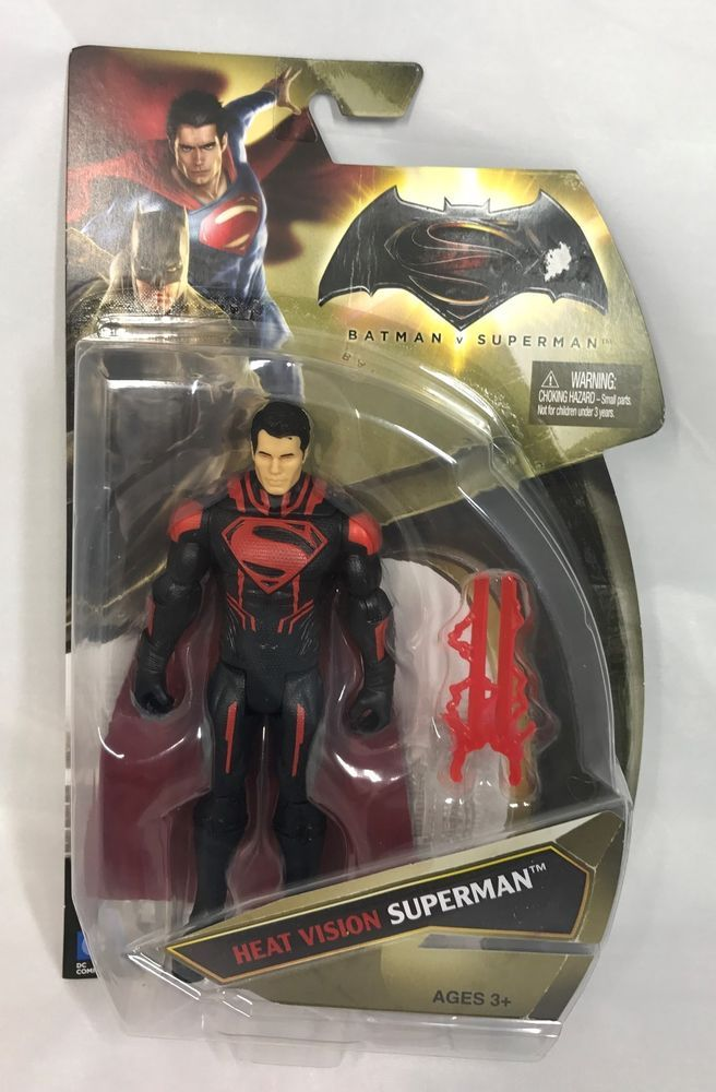 "Mattel DC Comics Batman VS Superman Heat Vision Superman - Action Figure - 6"" #Mattel"