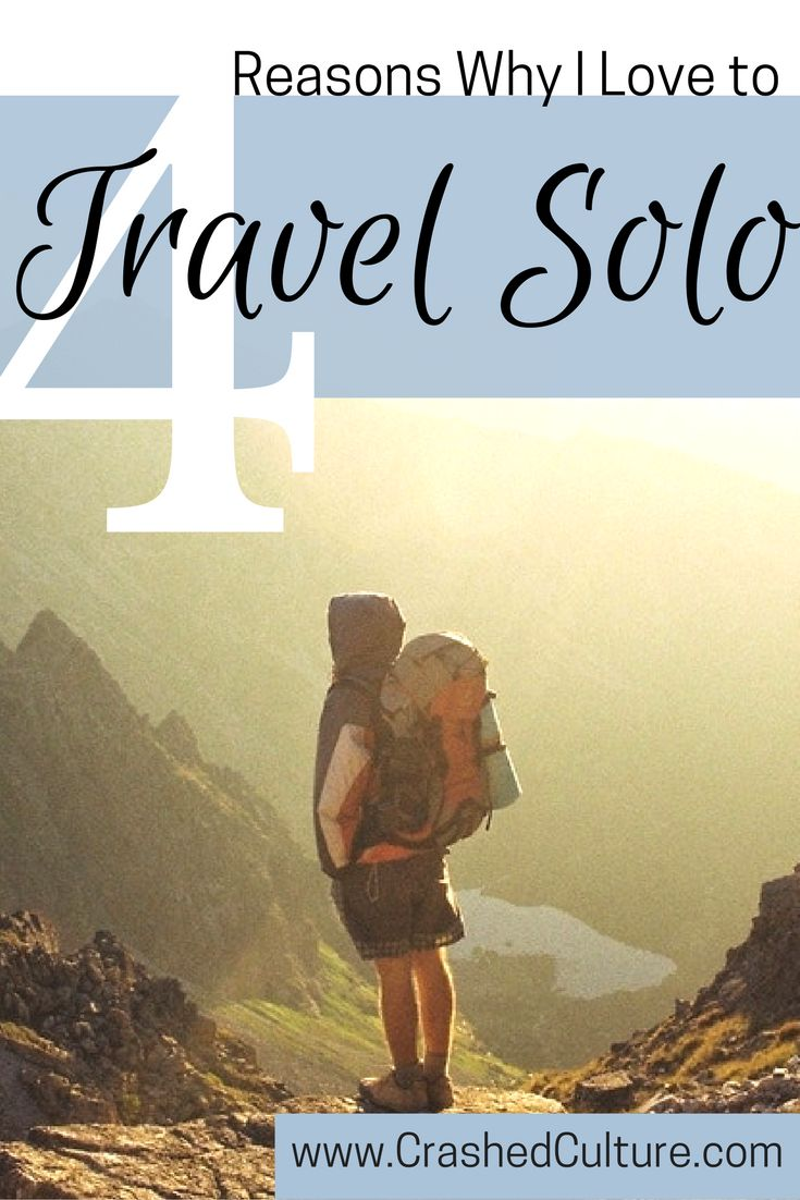 I didn't like to travel solo before. Now that I've learned to appreciate it, find why you might like to travel solo too, and can skip the travel buddy. via @crashedculture