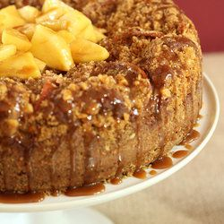 Holy Cow, you should see all the coffee cake recipes on this page !!: Memorial Cakes, Walnut Streusel, Recipe, Caramel Apples Cakes, Apples Coffee Cakes, Walnut Memorial, Caramel Sauces, Apples Walnut, Espresso Caramel