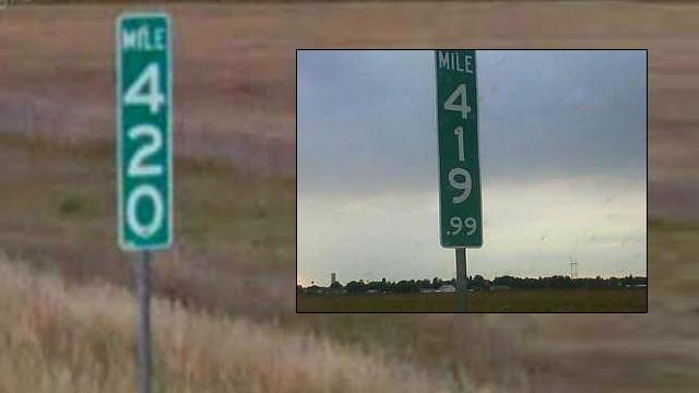 State alters 420 MM sign to thwart thieves | 9news.com