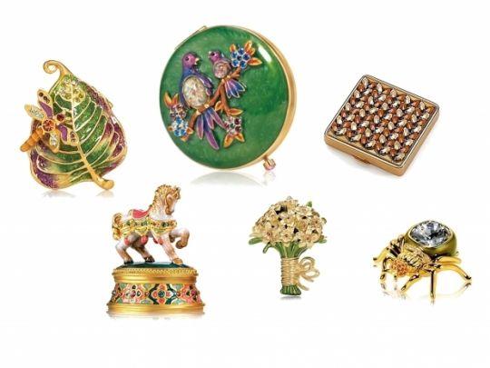 Estee Lauder Solid Perfume & Powder Holiday Collectiion 2010