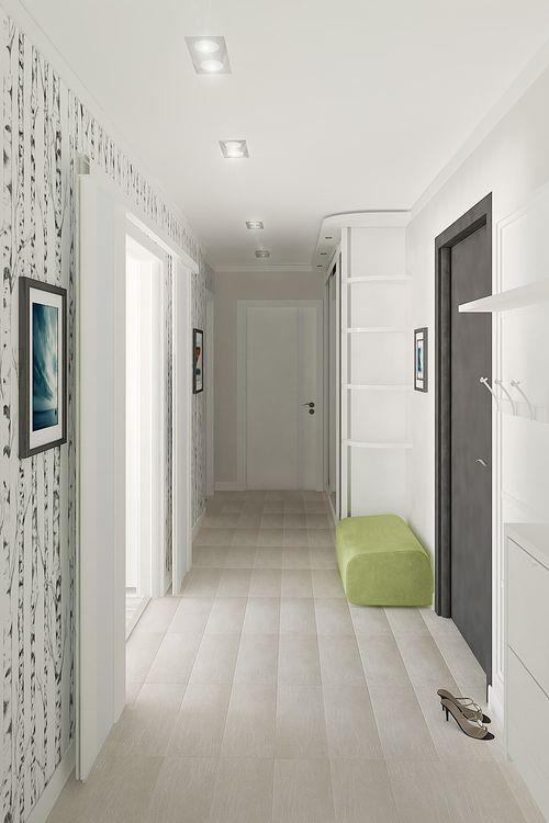 Idei de amenajare pentru un hol mic in culoarea alb | CasaMea.ro