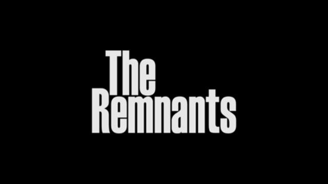 The Remnants by John August. The pilot for The Remnants, written and directed by John August. Starring Justine Bateman, Michael Cassidy, Ben Falcone, Ze Frank, Ernie Hudson, and Amanda Walsh.