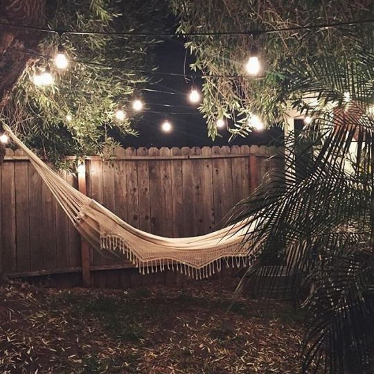 Cute little hammock to hangout on especially when guests are over ☺️