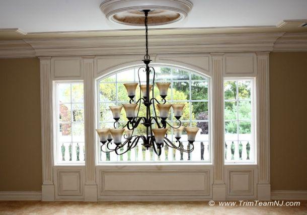 Foyer Window Nj : Moldings around upper window in foyer scotch plains