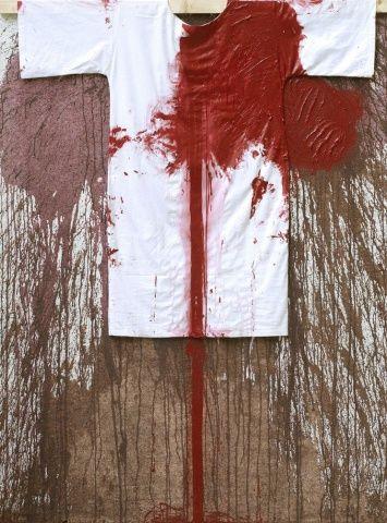 Hermann Nitsch, Stazione della Croce, 2009