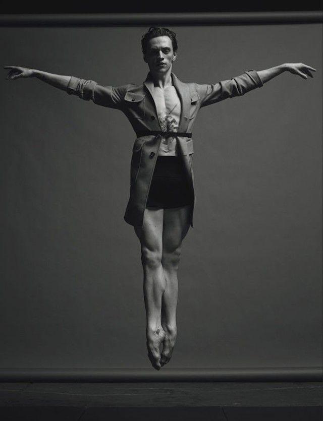 Portraits of a Dancer For Numero Magazine - Photos by Jacob Sutton.  Dancer: Sergueï Polounine