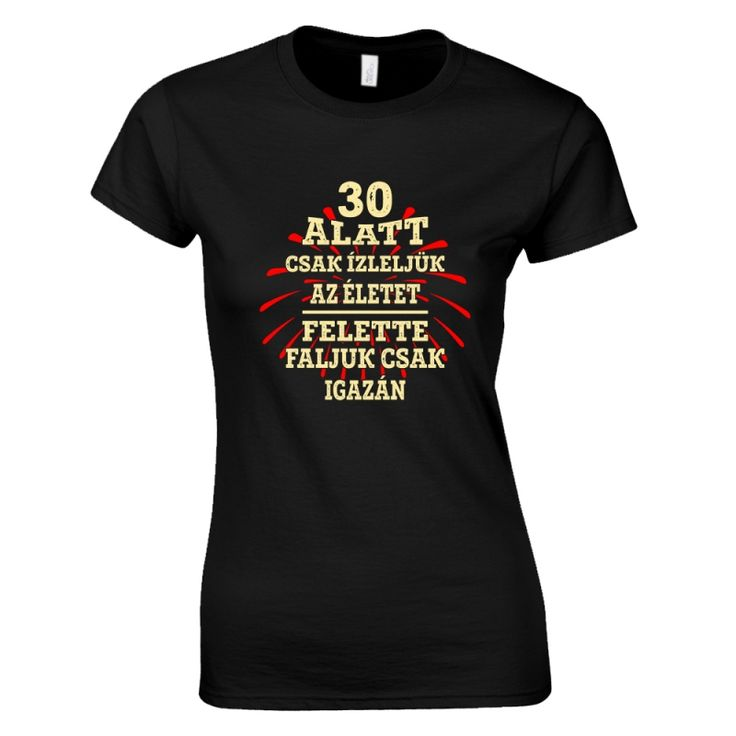 Család 30 felett szülinapi női póló