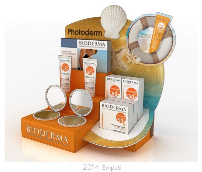 Bioderma Counter Display Designs by Bahar Bostancı at Coroflot.com