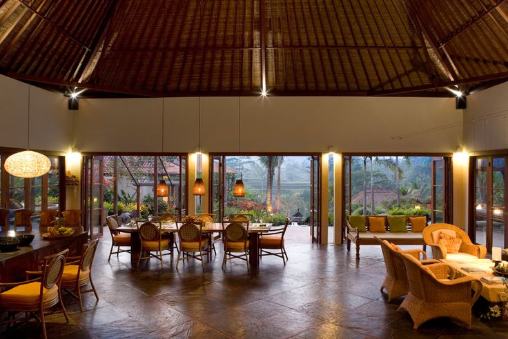 Main house interior at Villa Bayad Ubud Bali - Villa Bayad Ubud Bali are ideal for wedding parties and ceremonies be it a small gathering or a full blown function.