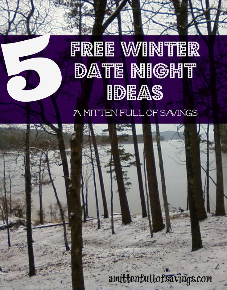 5 Free Winter Date Night Ideas sure to reconnect you with your love this winter!