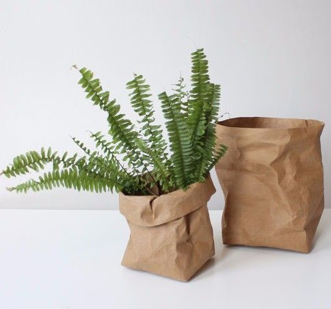 Washable paper bags made of natural cellulose fibers - so cool!