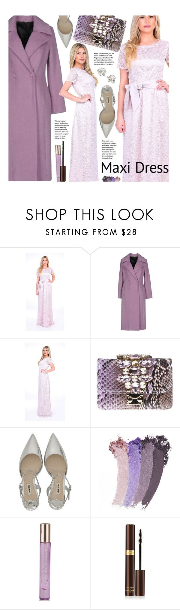 """""""Maxi Dress"""" by beebeely-look ❤ liked on Polyvore featuring Carla G., GEDEBE, Gucci, Kate Spade, Tom Ford, Atelier Swarovski, dresses, wedding, maxidress and lacedress"""