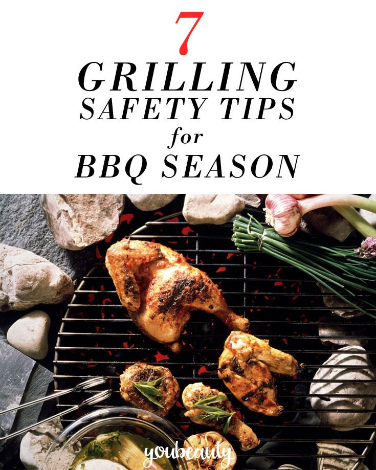 Grill safely with these tips: how to light it right, marinate properly, the right temp, and more.