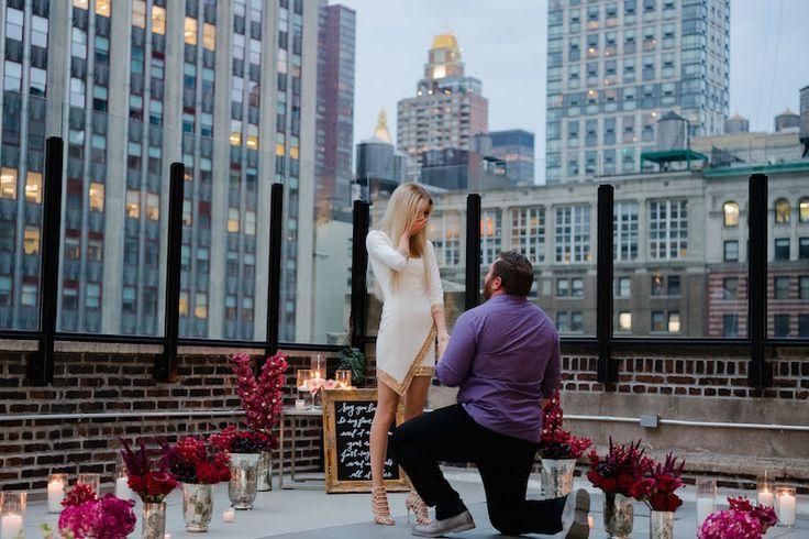 Heiratsantrag auf dem Rooftop, Hochzeit, Verlobung, Ideen